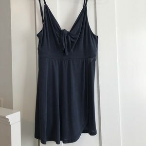 navy urban outfitters romper size small